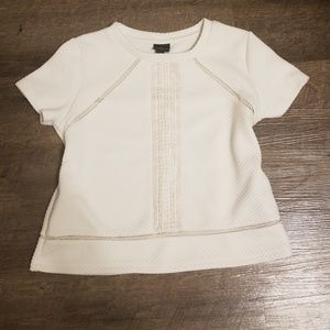 Worthington ivory top sz petite m pm